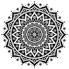 black and white east indian prints black and white indian