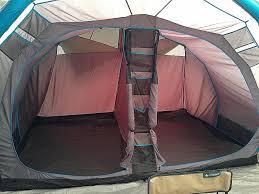 tente 6 places 2 chambres tente 6 places 2 chambres quechua arpenaz family 5 2 xl setup