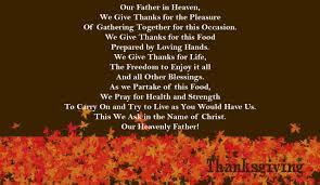thanksgiving day prayer 2017 calendars