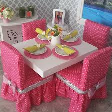american doll dining table diy dining chairs for american dolls youtube