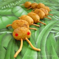 creepy corn dog centipedes for halloween or a bug themed party