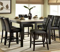 modern black dining room sets chair decorative black dining table and chairs for modern small