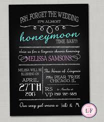 invites only chalkboard lingerie shower invitations bachelorette party