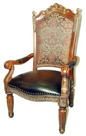 Leather Dining Chair With Arms Furniture Mesmerizing Collection Of Upholstered Dining Chairs
