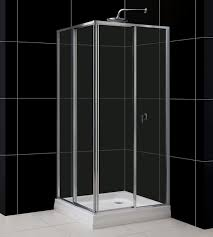 quad shower enclosure tray