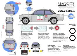 Fiat Abarth 131 Rally 1976 78 by Magister Plasticum