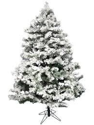 flocked antarctic pine christmas tree 2 3m christmas trees