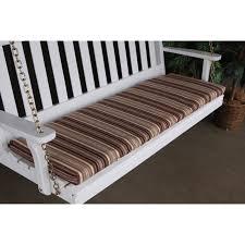 Patio Swing Cushions A U0026amp L Furniture Sundown Agora 68 X 17 In Cushion For Bench Or