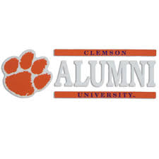 alumni decal clemson tiger alumni decal