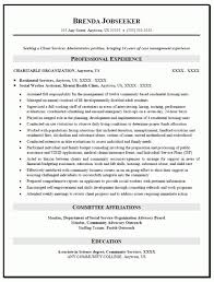 director resume socialworknyuedu social worker resume example