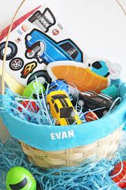 easter baskets for boys car themed boys easter basket basket ideas unique easter basket