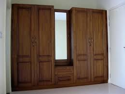 Woodwork Designs In Bedroom Furniture White Wooden Wardrobe Bedroom Cupboard Closet Intended
