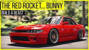 stanced cars forza horizon 3 the red rocket