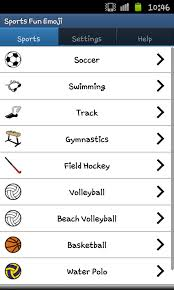 sports fun emojis android apps on google play