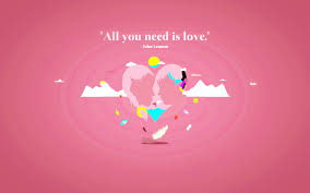 all you is love valentines hd wallpaper wallpapers hd