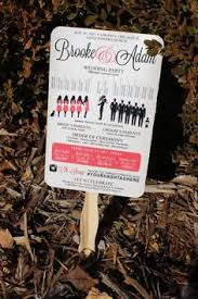 Diy Fan Wedding Programs Kits Diy Fan Wedding Programs At Home Alterations Wedding Ideas