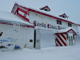 santa claus house north pole ak santa claus lives in north pole alaska says zeb the duck colorado