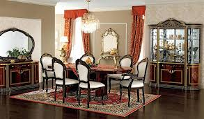dining table ef luxor by camelgroup traditional dining room