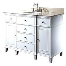 45 Bathroom Vanity 45 Bathroom Vanity Shop White Single Sink Bathroom Vanity With