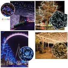 500led 100m string fairy lights christmas tree lamp xmas party