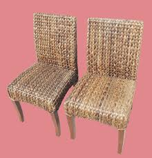 Pottery Barn Seagrass Chair by Furniture Rattan Chairs And Side Table By Seagrass Furniture For
