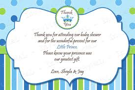 thank you card for baby shower thebridgesummit co