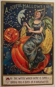 vintage witch illustration the 33 best images about vintage halloween postcards on pinterest