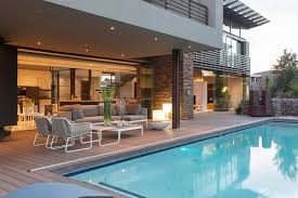 swimming pool house designs with photo of modern house with