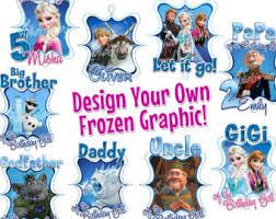 frozen printable etsy