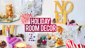 diy holiday room decorations easy fun and affordable