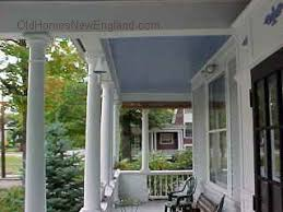 Exterior Beadboard Porch Ceiling - remodelaholic blue porch ceiling