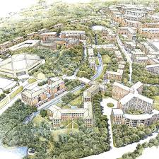 Nc State Campus Map Uncmp Master Plan U2013 Ayers Saint Gross