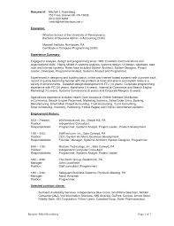 Sle Good Resume Objective 8 Exles In Pdf Word - resume templates architect objective exles for software sle