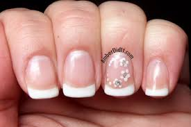 amber did it wedding nails using opi gel polish