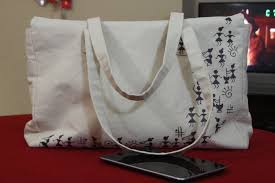Warli Art Simple Designs Warli Art Handbag Monalisadesign