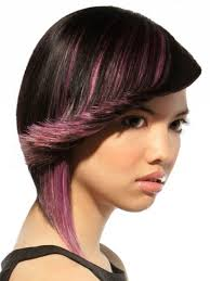chunking highlights dark hair pictures hair with violet highlights pictures
