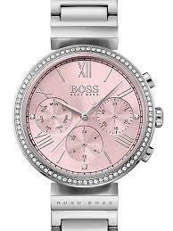 pink bracelet watches images Hugo boss ladies pink bracelet watch 1502401 the jewel hut jpg