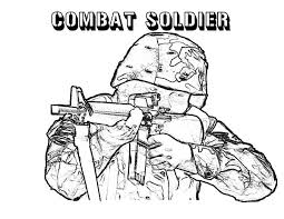 soldier army coloring pages tank bayonet pictures picture free