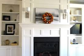 White Electric Fireplace With Bookcase by Fireplace Mantels With Bookshelves White Fireplace Mantel And