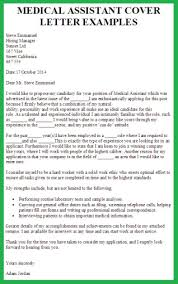 Example Resume For Medical Assistant by Cover Letter Medical Assistant Experience Resumes