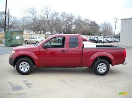 nissan frontier xe 2008 2007 red brawn nissan frontier xe king cab 25247328 photo 11