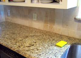 How To Install Kitchen Tile Backsplash Kitchen I Painted Our Kitchen Tile Backsplash The Wicker House