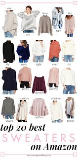 the best sweaters best sweaters on amazon and more picks winter weather wardrobe