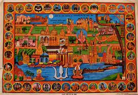 World Map Oldest by Pilgrim U0027s Map Of Kashi Varanasi By Zawelski Via Flickr