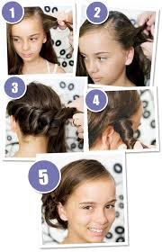 step by step womens hair cuts 3 quick and easy hairstyles your girl will love bub hub