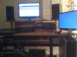 omnirax presto 4 studio desk studio rta desk black decorative desk decoration