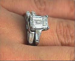 emerald cut engagement rings 2 carat show me your emerald cut 1 00 2 00 carat center ring