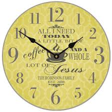 Personalized Wedding Clocks 33 Best Clocks Images On Pinterest Bride Gifts Gifts For The