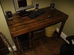 Diy Pallet Desk Pallet Wood Desk