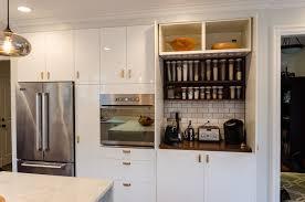kitchen decorating idea garage door in kitchen bjyoho com